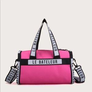 Handbags - Hot Pink Duffle Bag Style Purse